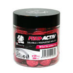Rozpustné Boilie LK Baits Fish Activ Soluble 250ml 20mm - Wild Strawberry