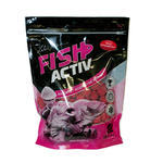 Rozpustné Boilie LK Baits Fish Activ Soluble 1kg 20mm - Wild Strawberry