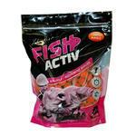 Rozpustné Boilie LK Baits Fish Activ Soluble 1kg 20mm -Compot