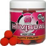 Plovoucí boilie Mainline Pop-Up Hi-Visual 15mm - Tutti-Frutti