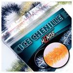 ICE chenille 4mm CHI06 - oranžová fluo