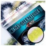 ICE chenille 4mm CHI02 - žlutá fluo