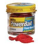 Vosí larvy Berkley PowerBait® Honey Worm 55ks - červená