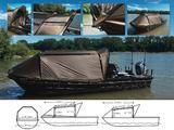 Přístřešek na loď Black Cat Special Boat Cave II