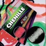 Chenille 2mm CH2201 - bílá