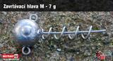 Jigová hlavička zavrtávací RedBass 2 ks vel.M 7g
