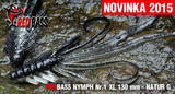 Nymfa RedBass XL 130mm - Natur G