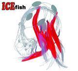 Mořské návazce - červené trubičky 5ks vel.1