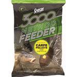 Krmení Sensas 3000 Method Feeder 1kg - Carpe Pellets