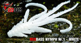 Nymfa RedBass S 53mm - White