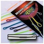 Muškařské rychlospojky Hends - Braided conectors 01 - čirá