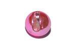 Kulička wolframová hladká s drážkou Lucent 10ks Světle růžová - 5,5mm