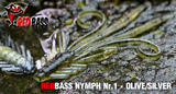 Nymfa RedBass S 53mm - Silver-Olive