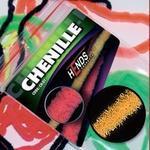 Chenille 2mm CH2203 - oranžová