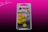 Pěnové boilies ZIG RIG Pop Up LK Baits 14mm - Yellow