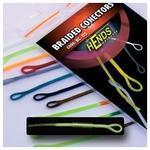 Muškařské rychlospojky Hends - Braided conectors 05 - zelenožlutá fluo