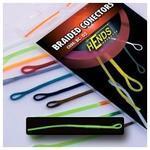 Muškařské rychlospojky Hends - Braided conectors 13 - fluo zelená