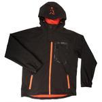 Bunda Fox Black and Orange Softshell Jacket L
