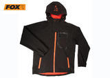 Bunda Fox Black and Orange Softshell Jacket L