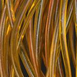 Body Glass Half Round 34 - olivově hnědá