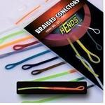 Muškařské rychlospojky Hends - Braided conectors 15 - žlutooranžová fluo