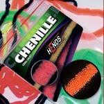 Chenille 2mm CH2204 - oranžová signální