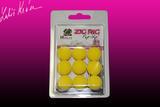 Pěnové boilies ZIG RIG Pop Up LK Baits 18mm - Yellow