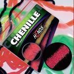 Chenille 2mm CH2209 - červená