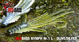 Nymfa RedBass L 80mm - Silver-Olive