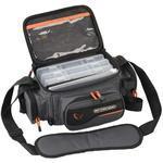 Přívlačová taška Savage Gear System Box Bag S + 3 krabičky