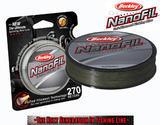 Nanofil Berkley 270m 0,22mm 14,715kg - Zelený
