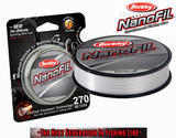 Nanofil Berkley 270m 0,28mm 20,126kg - Průhledný
