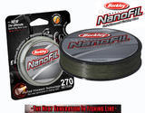 Nanofil Berkley 270m 0,20mm 12,649kg - Zelený