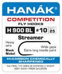 Háčky Streamer bez protihrotu Hanák H 900 BL 25ks - 6