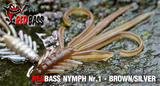 Nymfa RedBass S 53mm - Brown -Silver
