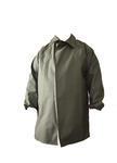 Kabát rybářský lovecký se zvýšeným límcem VINYTOL zelený - XL