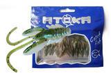 "Nymfy Ice Fish Atoka - 1"" (9ks) - 4 Pearl Olive Shad"