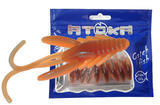 "Nymfy Ice Fish Atoka - 1"" (9ks) - 1 Smoke Orange"