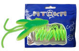 "Nymfy Ice Fish Atoka - 1"" (9ks) - 6 Green Chartreuse"