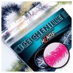 ICE chenille 4mm CHI16 - růžová fluo