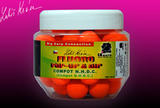 Fluoro Pop-up Boilie LK Baits 130g 18mm - Compot N.H.D.C + dip