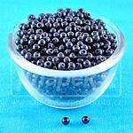Plastové kuličky Miracle Beads 3D 50ks Black - 4,0mm