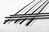 PVC trubička černá 1,2m - 10mm