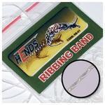 Pletená lameta Ribbing band RB01 - bílá