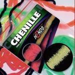 Chenille 2mm CH2210 - žlutá savětlá