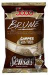Krmení Sensas 3000 Brune Carp - Kapr hnědé 1kg