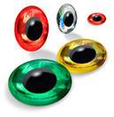 Holografické 3D oči
