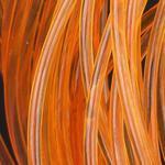 Body Glass Round 02 - oranžová