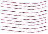 Boilie zarážky Carp System - červené