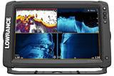 Sonar Lowrance Elite 12Ti2 se sondou Active Imaging 3v1